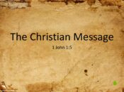 The Christian Message