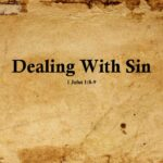 Dealing With Sin