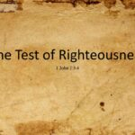 The Test of Righteousness