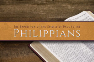 "The series called ""Philippians""."