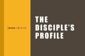 The Disciple's Profile