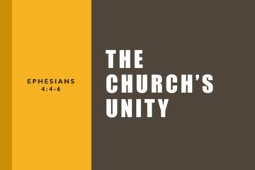 The Church's Unity