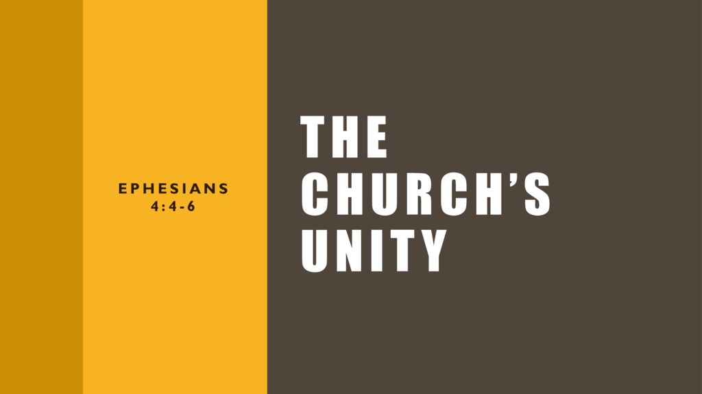 The Churches Unity