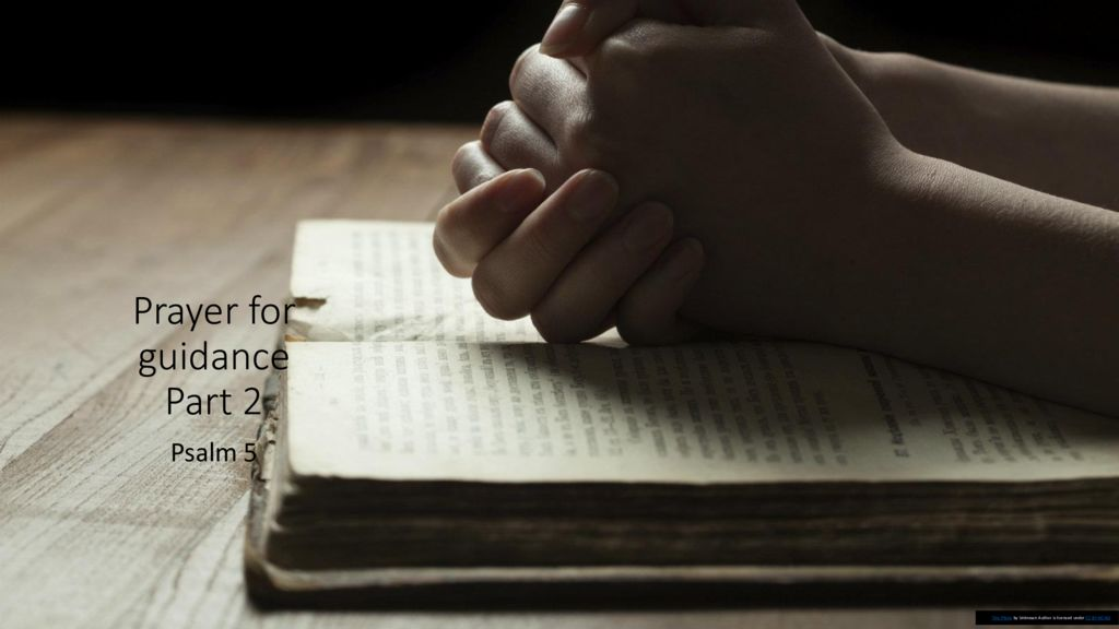 Prayer for Guidance Part 2