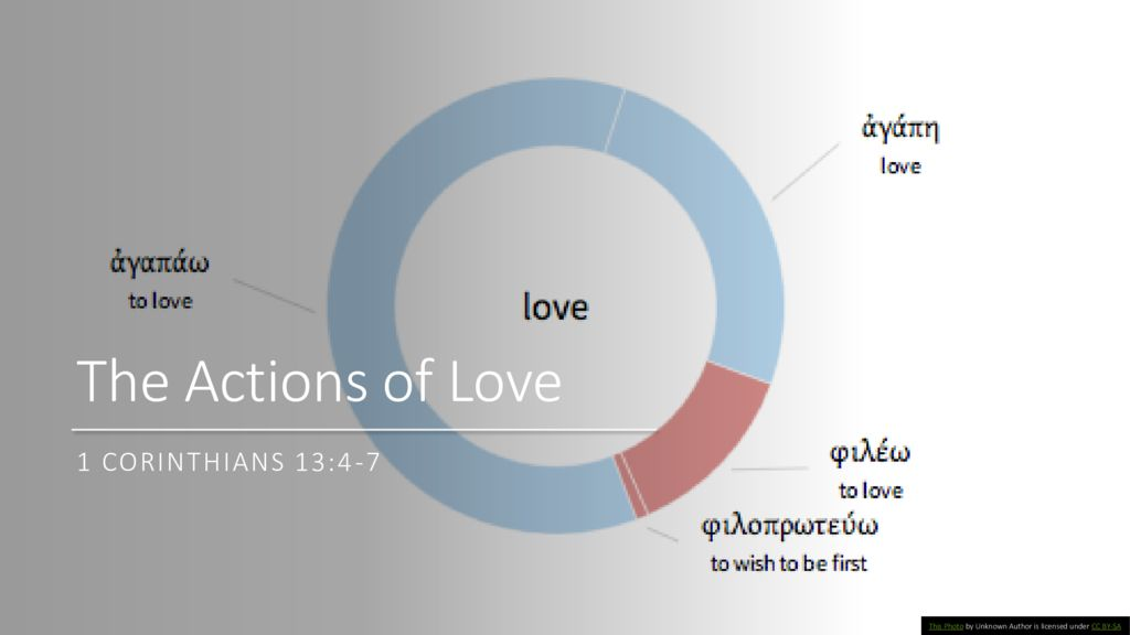 The Actions of Love